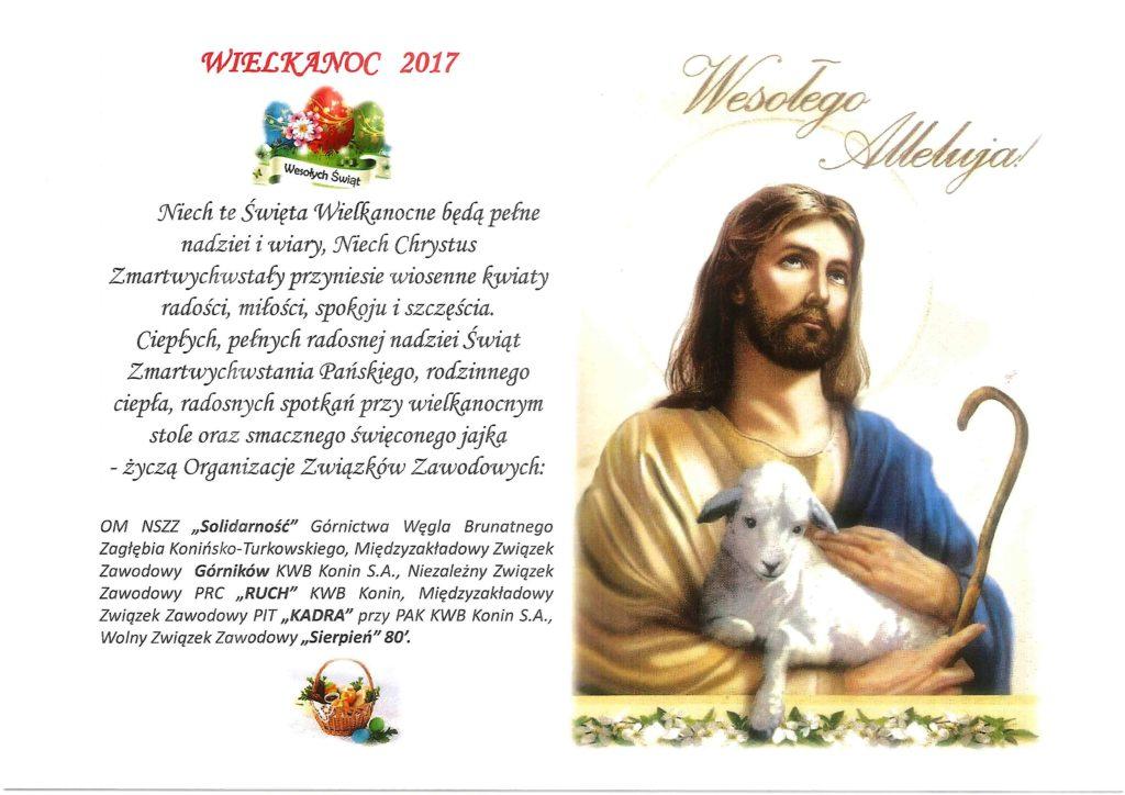 Życzenia Wielkanocne na stronę