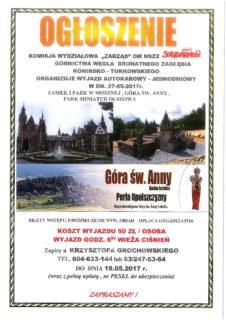 KOMUNIKAT - KW ZARZĄD 27-05-2017.
